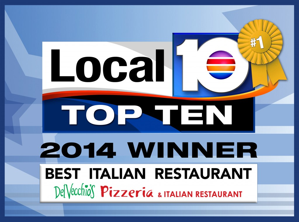 DelVecchio's best pizza chain 2014