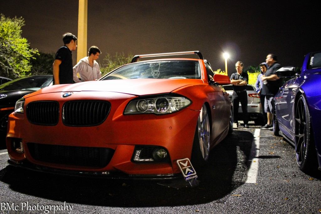 DelVecchio's and SelfMade Motorsports monthly car meet