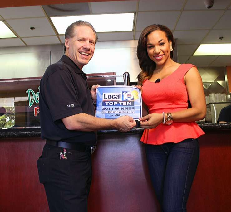 DelVecchio's voted #1 Pizza Chain and Italian Restaurant in South Florida 2014